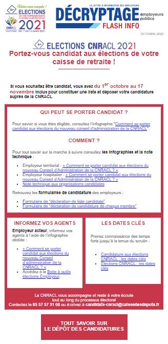 Elections CNRACL 2021 – Centre de Gestion des Alpes de Haute Pro